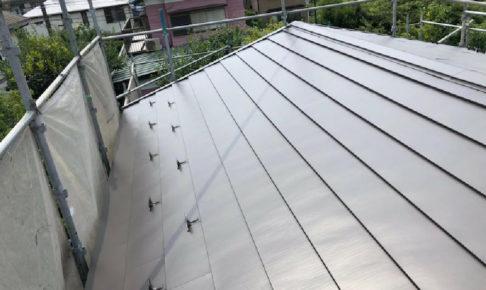 松戸市の屋根カバー工法の施工事例