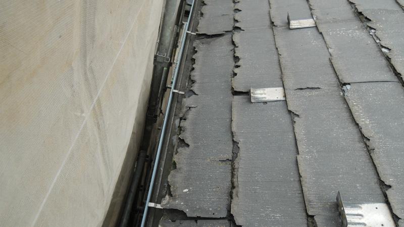 パミール屋根の劣化症状