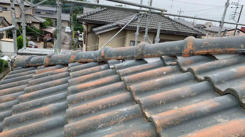 三郷市の屋根修理の施工後の様子