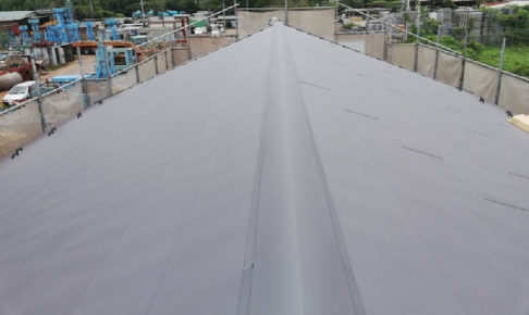 千葉県千葉市の屋根葺き替え工事の施工事例