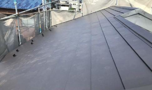 鎌ヶ谷市の屋根葺き替え工事
