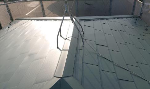 葛飾区の屋根葺き替え工事