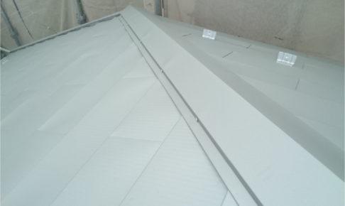 柏市の屋根カバー工法