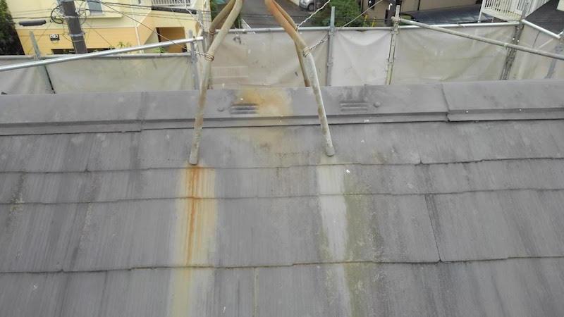 柏市のカバー工法の施工前の様子