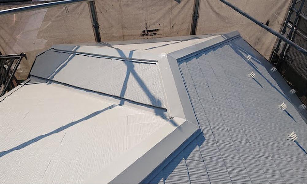 川口市の屋根塗装