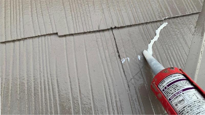 屋根のスレート瓦の補修