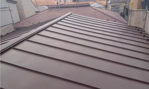 大田区の屋根葺き替え絵工事