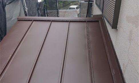 越谷市の屋根葺き替え工事