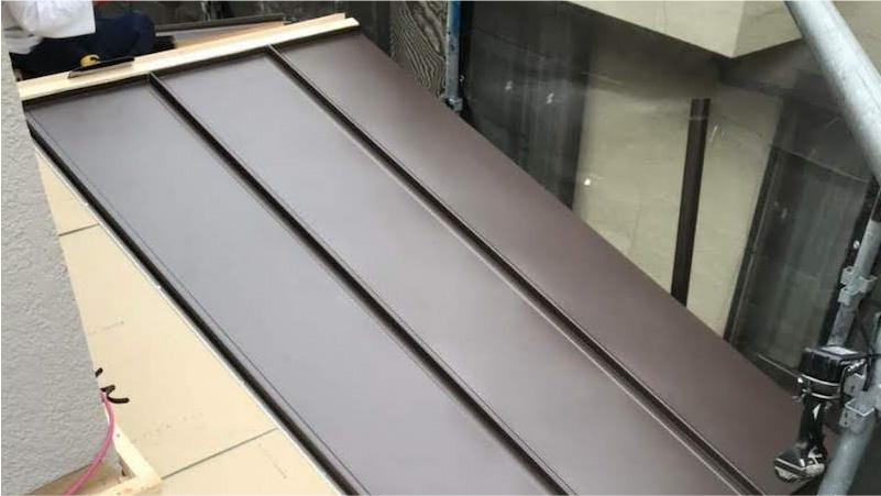 ガルバリウム鋼板(スタンビー)の施工