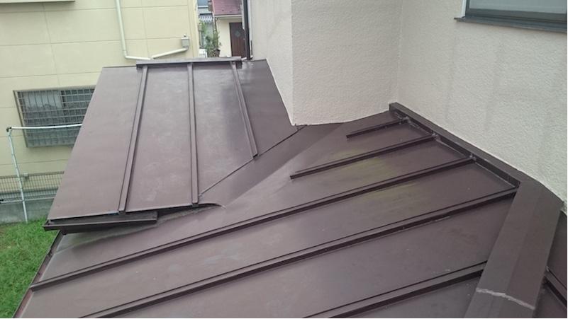 錆が発生したトタン瓦棒屋根