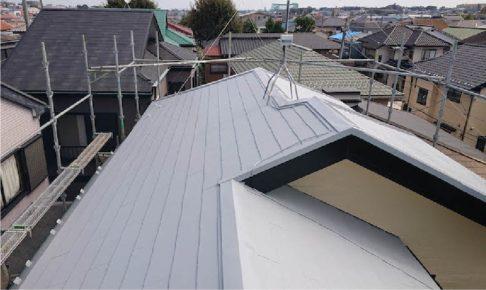 市川市の屋根塗装の施工事例