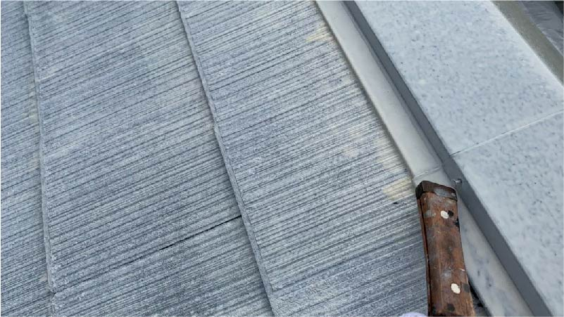 市川市の屋根塗装の下塗り