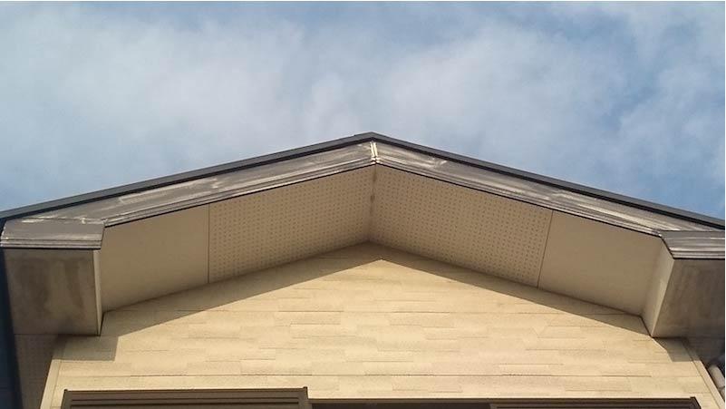 市川市の外壁塗装の施工前の様子