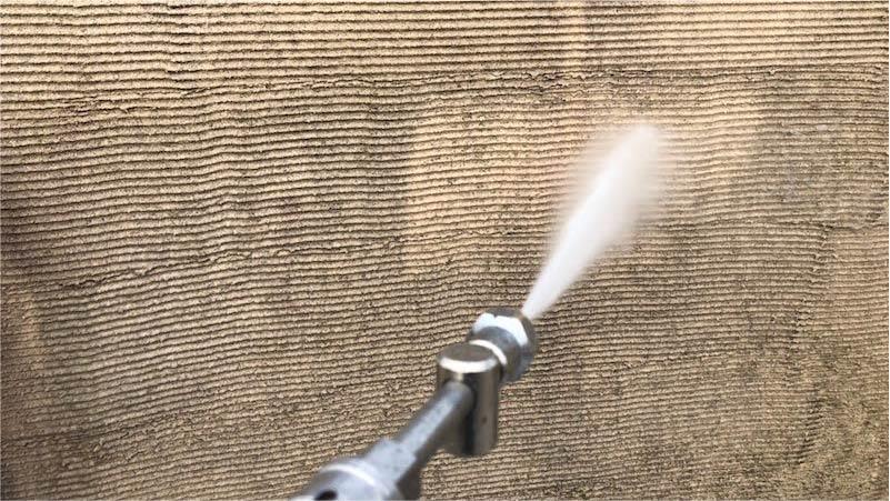 三郷市の外壁塗装の高圧洗浄