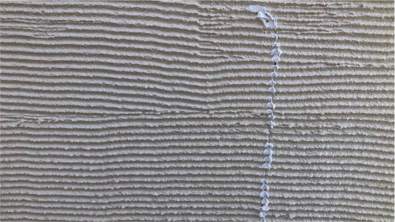 三郷市の外壁塗装のひび割れの補修