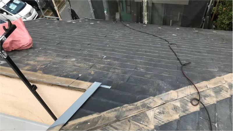 埼玉県三郷市の棟板金の撤去