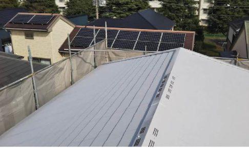 千葉県我孫子市の屋根塗装工事