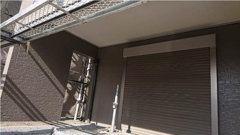 千葉県我孫子市の外壁塗装の施工後の様子