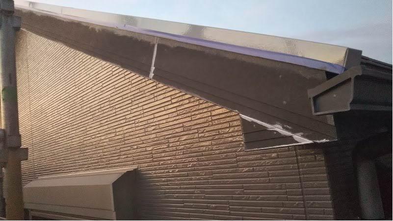 千葉県我孫子市の破風板塗装