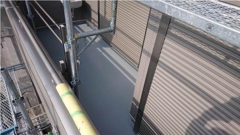 千葉県我孫子市のベランダ防水工事