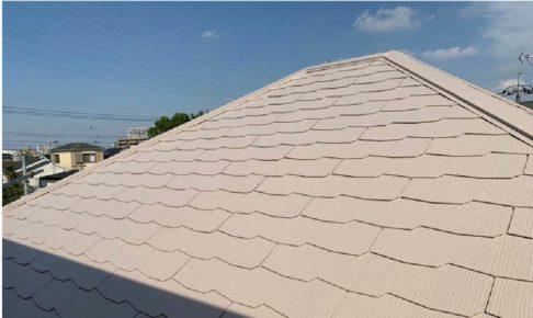 越谷市の外壁・屋根塗装工事の施工事例