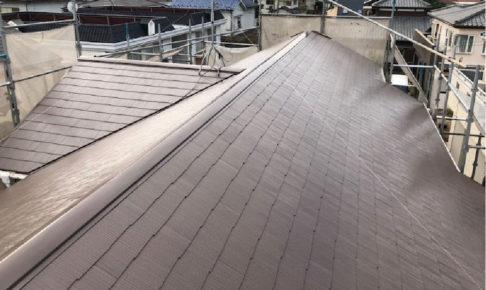 千葉県四街道市の屋根塗装の施工事例