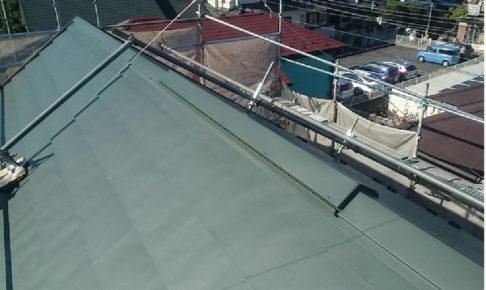 船橋市の屋根カバー工法の施工事例