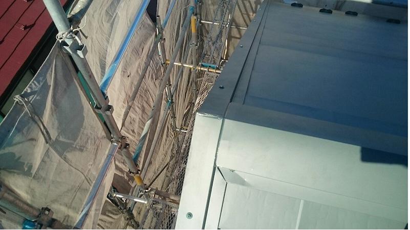 船橋市のカバー工法の施工後の様子