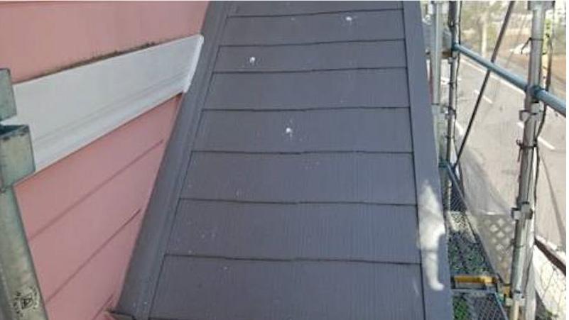 船橋市のカバー工法の下屋根の施工
