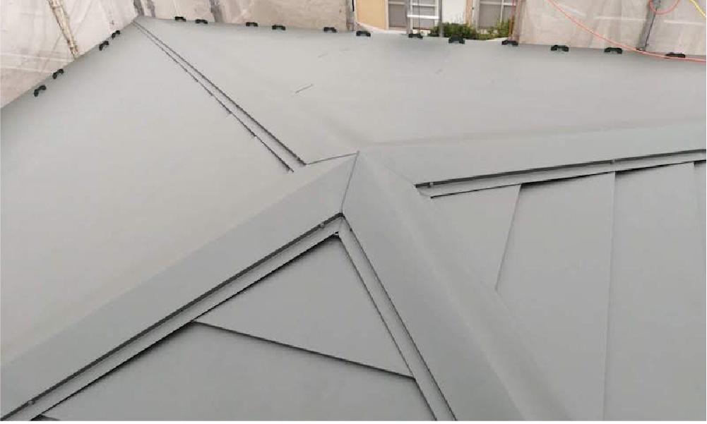 草加市の屋根リフォームの施工事例