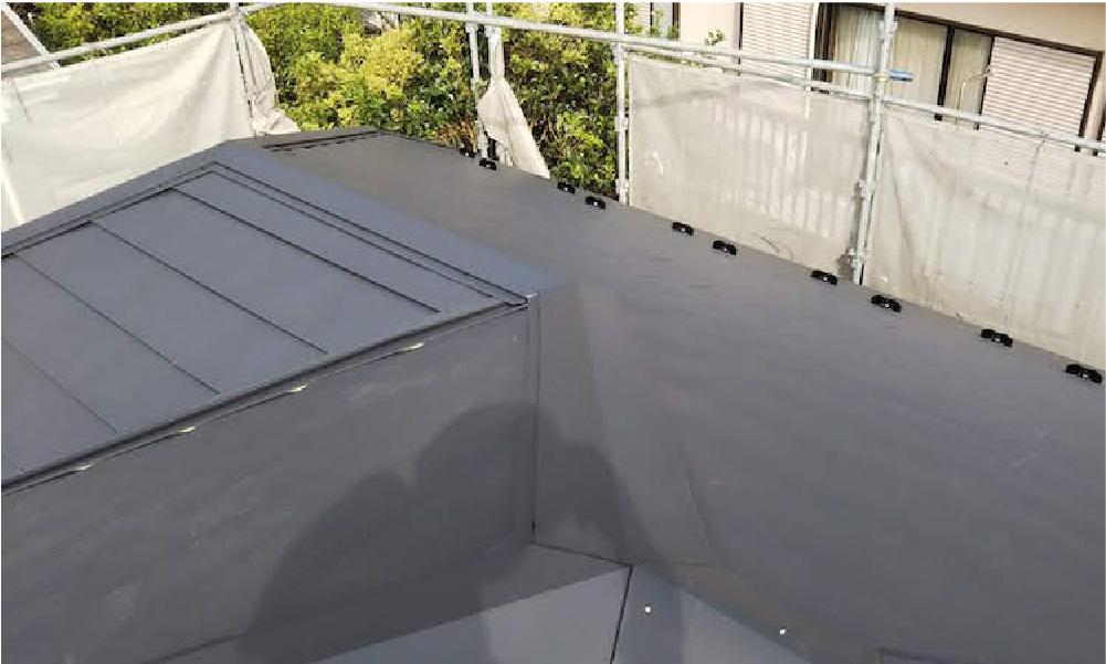 花見川区の屋根修理の施工事例