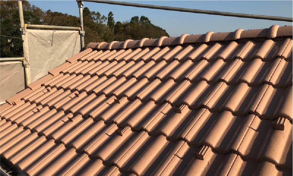 三郷市の屋根葺き替え工事の施工事例