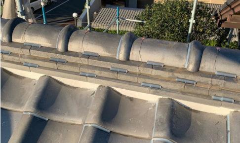 草加市の屋根修理の施工事例