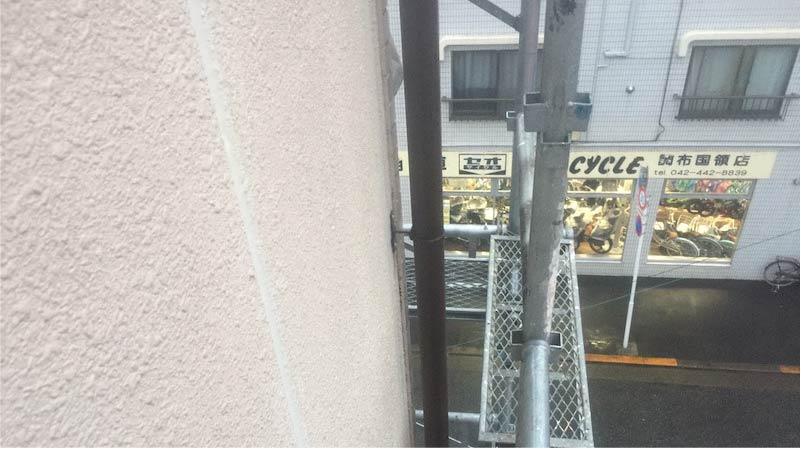 松戸市の外壁のコーキングの交換工事