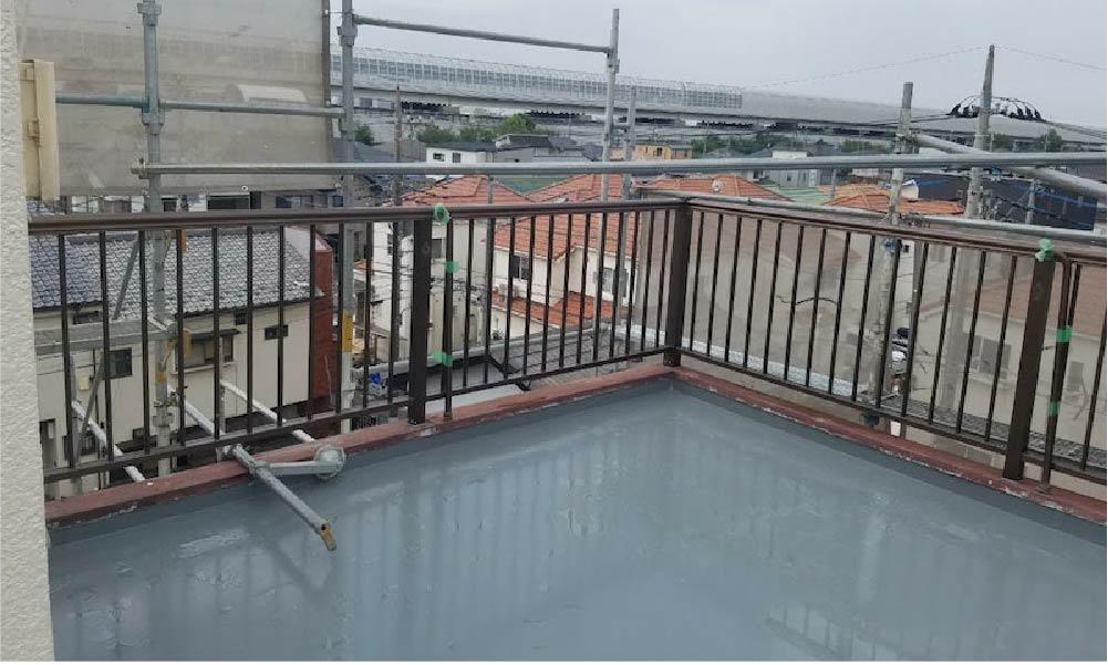 船橋市の屋上・ルーフバルコニーの防水工事