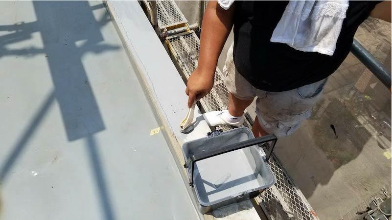 パラペットの防水処理