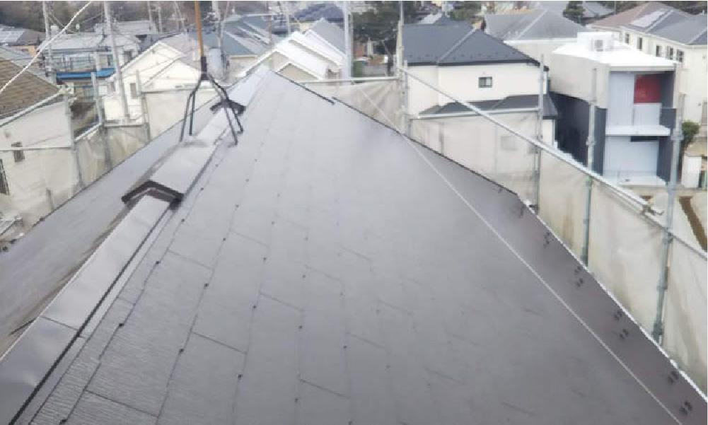 船橋市の屋根塗装の施工事例