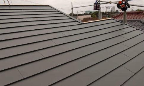 横浜市の屋根葺き替え工事の施工事例