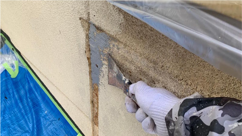 外壁の補修