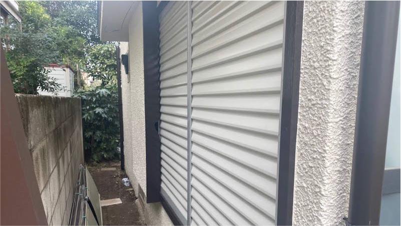 外壁塗装の施工後の様子