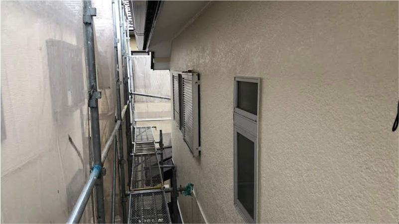市原市の外壁塗装の施工後の様子