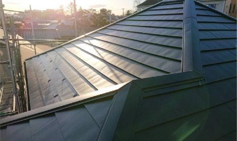 茨城県守谷市の屋根カバー工法リフォームの施工事例