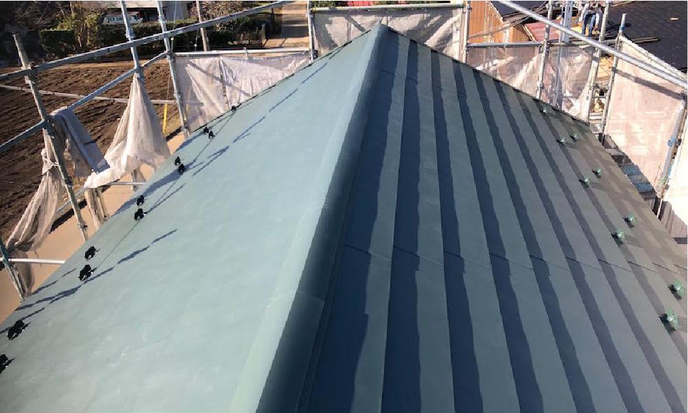 野田市の屋根カバー工法の施工事例