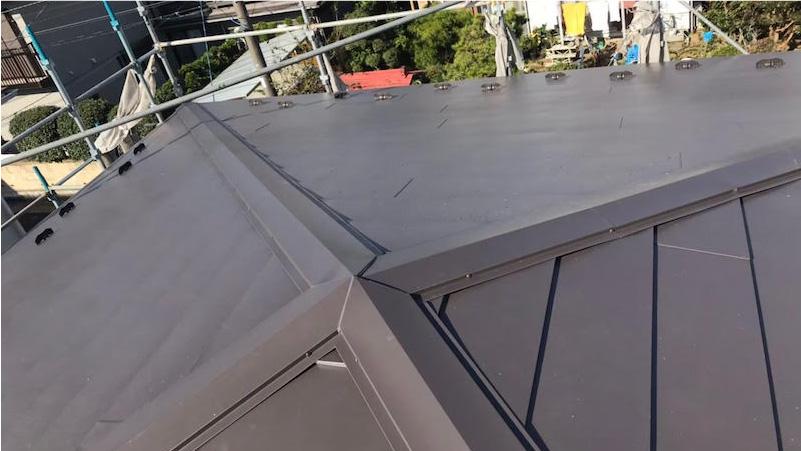 ガルバリウム鋼の施工