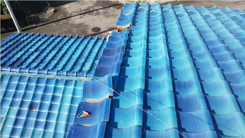 取手市の屋根修理