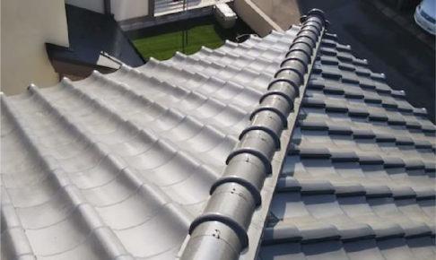 鎌ヶ谷市の屋根葺き直し工事の施工事例