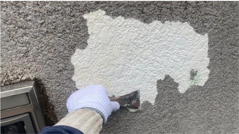 外壁塗装の下地補修