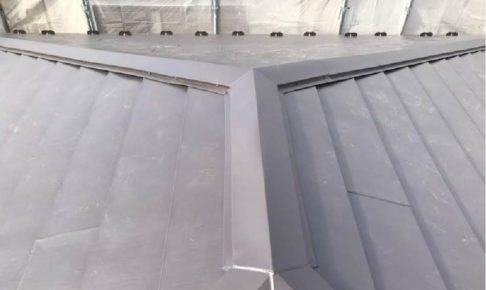 三郷市の屋根カバー工法
