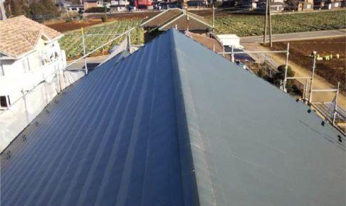 八街市の屋根葺き替え工事の施工事例