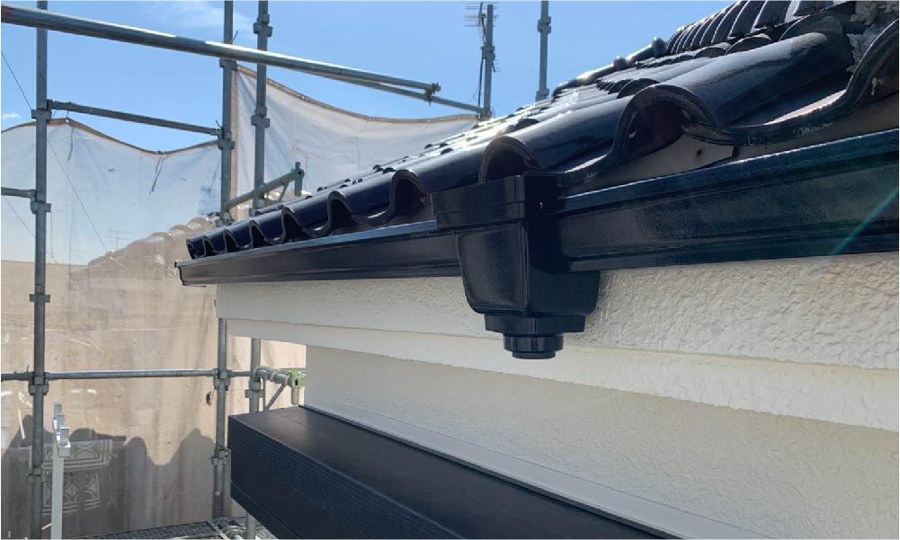 江戸川区の雨漏り修理の施工事例